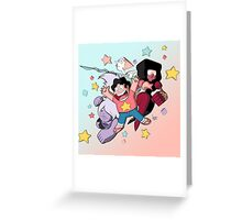 Gem Warriors v2 Greeting Card