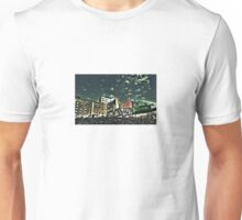 Downtown Oslo skyline by Tim Constable Unisex T-Shirt