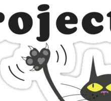 See My Claws! - The Paw Project Sticker