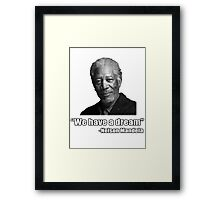 Troll Quotes - Morgan Mandela Framed Print