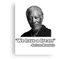 Troll Quotes - Morgan Mandela Canvas Print