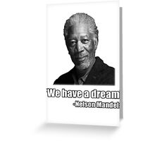 Troll Quotes - Morgan Mandela Greeting Card