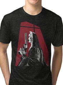 Nun With a Gun Tri-blend T-Shirt