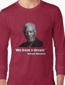 Troll Quotes - Morgan Mandela Long Sleeve T-Shirt