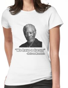 Troll Quotes - Morgan Mandela Womens Fitted T-Shirt
