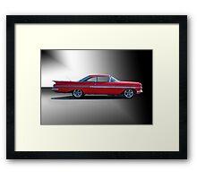 1959 Chevrolet Impala 'Studio 1' Framed Print