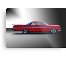 1959 Chevrolet Impala 'Studio 1' Metal Print