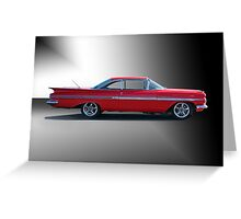 1959 Chevrolet Impala 'Studio 1' Greeting Card