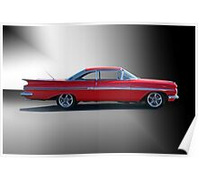 1959 Chevrolet Impala 'Studio 1' Poster