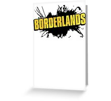 Borderlands Logo Greeting Card
