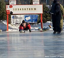 Curling Ice Level  by Marc Evans