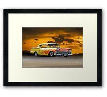 1958 Chevrolet Delray 'Custom' Framed Print