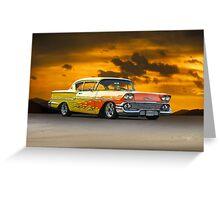 1958 Chevrolet Delray 'Custom' Greeting Card