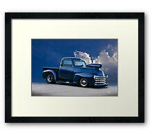 1950 Chevrolet 'Pro Street' Pickup  Framed Print