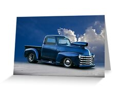 1950 Chevrolet 'Pro Street' Pickup  Greeting Card