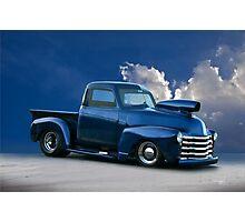 1950 Chevrolet 'Pro Street' Pickup  Photographic Print