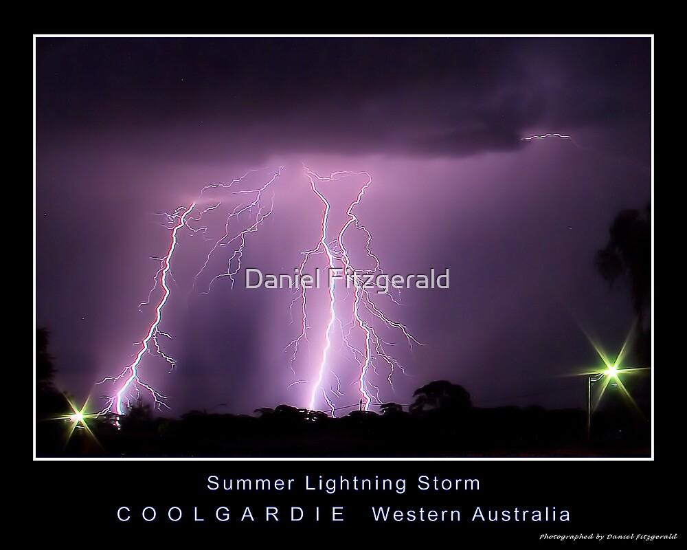 Summer Lightning Storm 2 by Daniel Fitzgerald