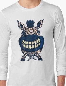 Cheesy Zebra Long Sleeve T-Shirt