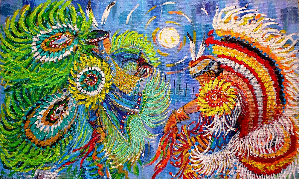 Fancy Dancers by Arnold Isbister