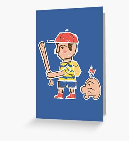 Ness between Earths Greeting Card