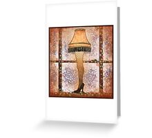 Fra-gee-lay, Ode to A Christmas Story Greeting Card