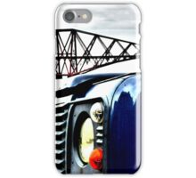 SUV in front of Forth Rail Bridge iPhone Case/Skin