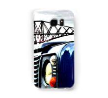 SUV in front of Forth Rail Bridge Samsung Galaxy Case/Skin