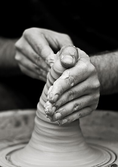 hands of worker by Victor Bezrukov
