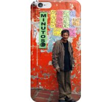 People 0776 (Bogota, Colombia) iPhone Case/Skin