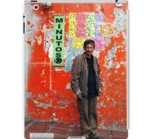 People 0776 (Bogota, Colombia) iPad Case/Skin