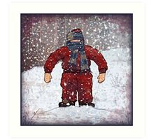 Randys Suit, Ode to A Christmas Story Art Print