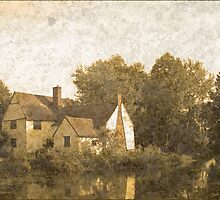 Willie Lott's Cottage antiquated process by InterestingImag