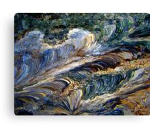 QUARTZ WAVE Canvas Print
