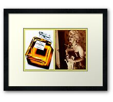 Marilyn's favourite scent Framed Print