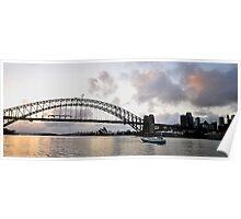 Glimmer - Sydney Harbour Dawn Poster
