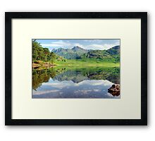 The Ripple in the Reflection Framed Print