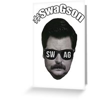 #SwagSon Is Here! Greeting Card