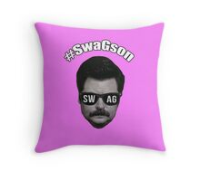 #SwagSon Is Here! Throw Pillow
