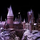 Hogwarts castle in the snow by miradorpictures