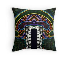 patterns of life - intoxication Throw Pillow