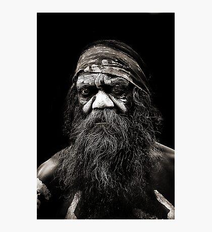 Aboriginal Man Photographic Print