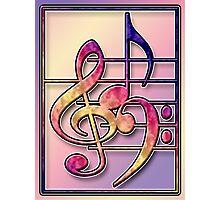 Music Symbols2 Photographic Print