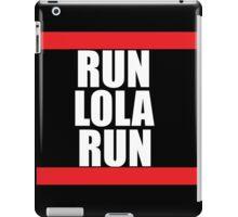 Run lola run  DMC mashup iPad Case/Skin