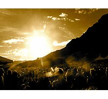 Crowded Mountain Photographic Print
