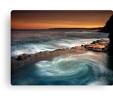 Bogey Hole Whirlpool Canvas Print