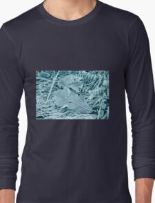 Frosty Leaves 3 Long Sleeve T-Shirt