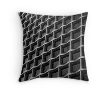 centre point in b&w Throw Pillow
