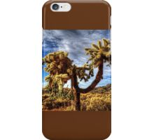Cholla near Sears-Kay Ruins iPhone Case/Skin