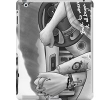 back to where it all began iPad Case/Skin