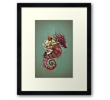 The Water Warrior Framed Print